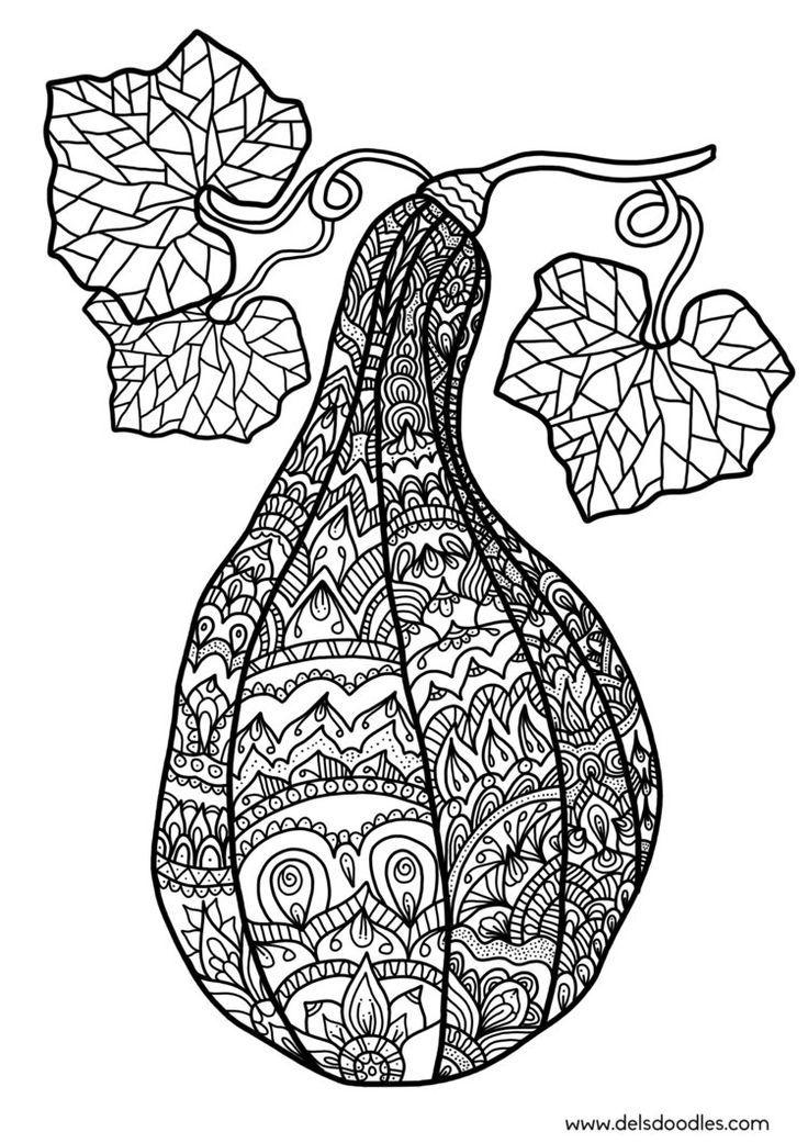 Mandala Kleurplaten Fruit.Pin Van Barbara Op Coloring Fruit Vegetable Coloring