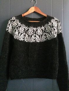 Photo of fun9's Onopordum Pullover #knittingpatterns fun9's Onopordum Pullover, a strande…