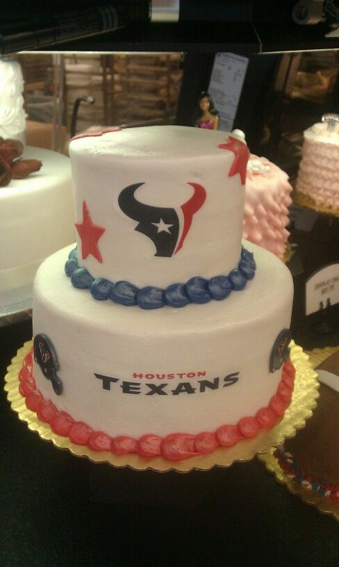Houston Texas Cake Football Themed Cakes Cupcakes Texans