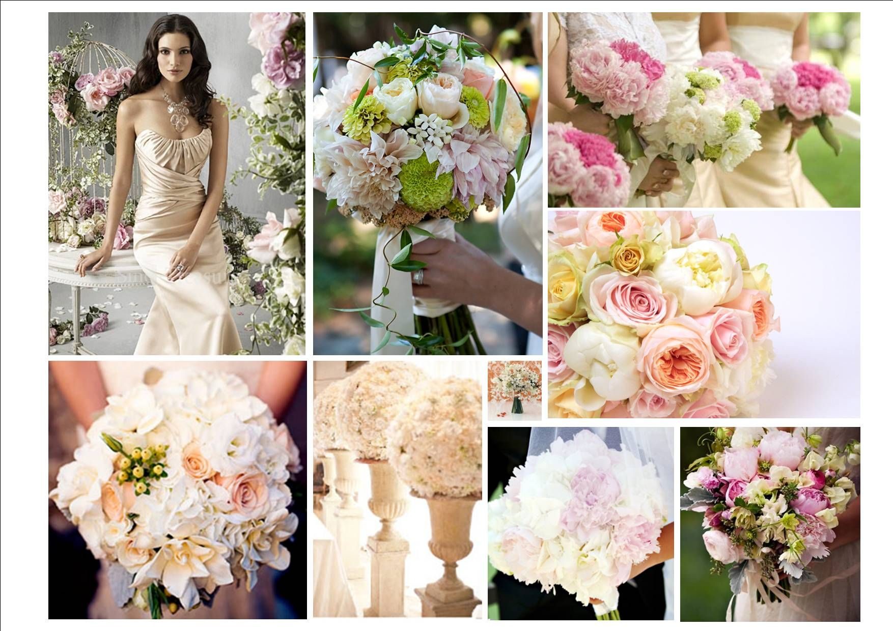 Ivory champagne and blush weddings pink green peach or ivory ivory champagne and blush weddings pink green peach or ivory flowers will enhance izmirmasajfo Choice Image