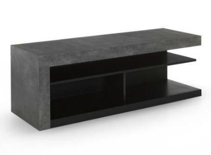 meuble tv effet bton hilo prix promo alinea 19900 ttc - Mini Meuble Tv Alinea