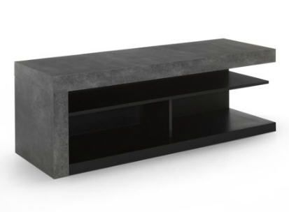 meuble tv effet b ton hilo meuble tv alinea alin a et meuble tv. Black Bedroom Furniture Sets. Home Design Ideas