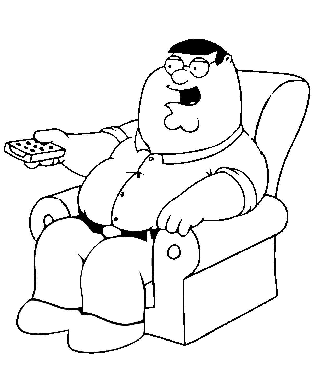 Family Guy Ausmalbilder. Malvorlagen Zeichnung druckbare nº 6 ...