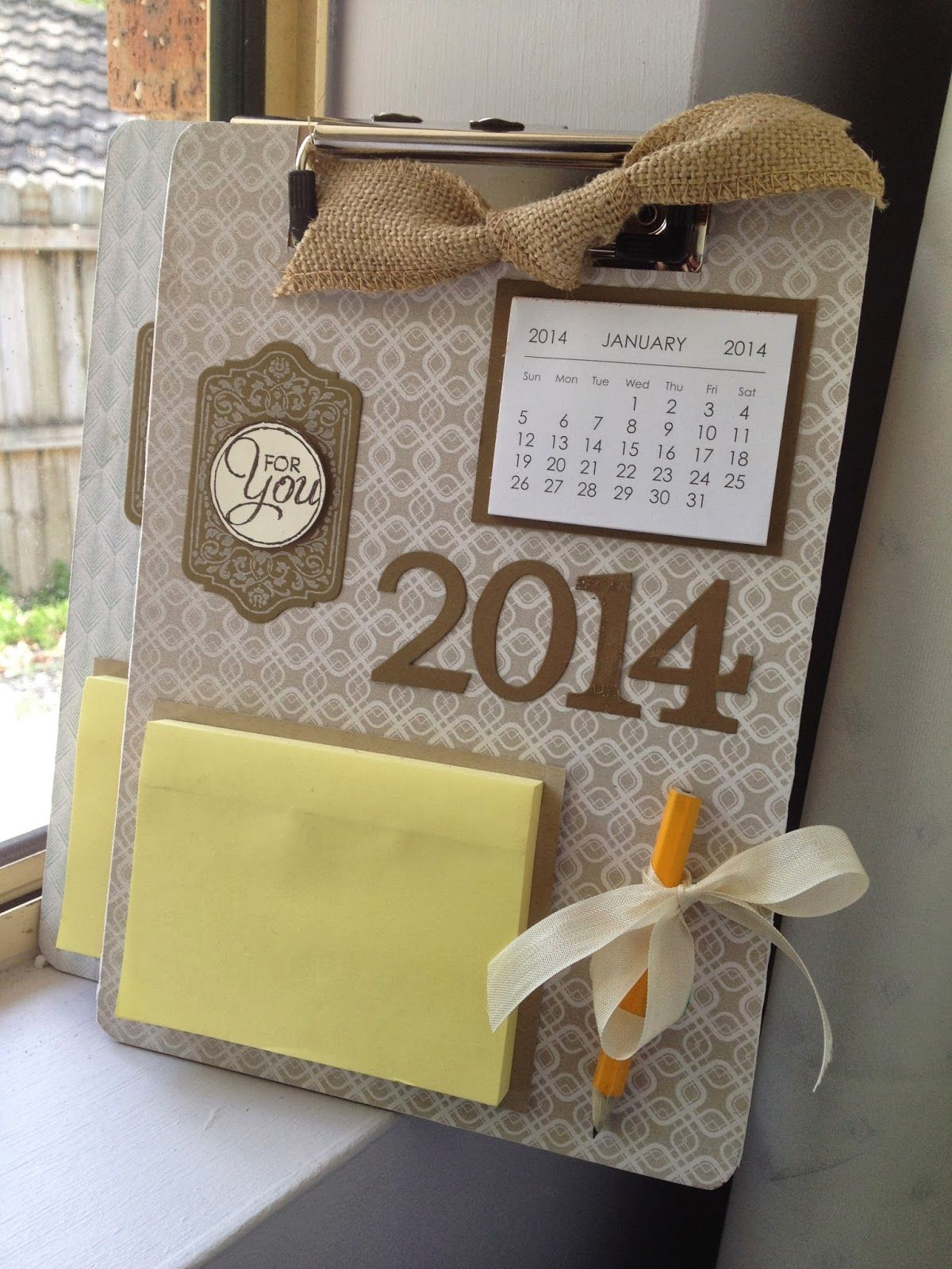 Linda Higgins: Clipboard Gifts for Christmas | Craft Ideas ...