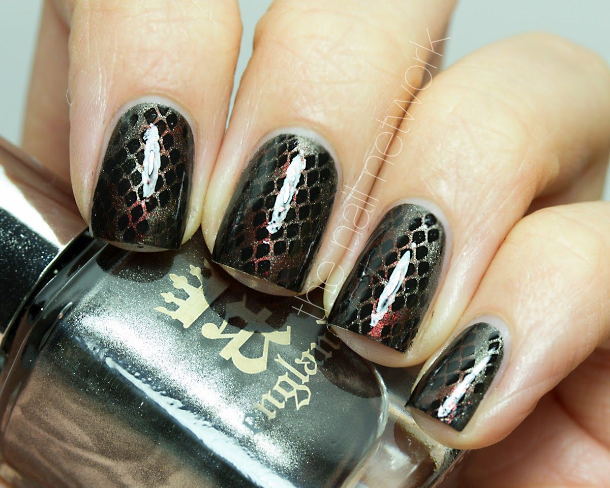 The Nail Network: Game of Thrones Targaryen Dragons Nail Art ...