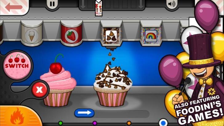 Papa S Cupcakeria At Cool Math Games Game Hotgame