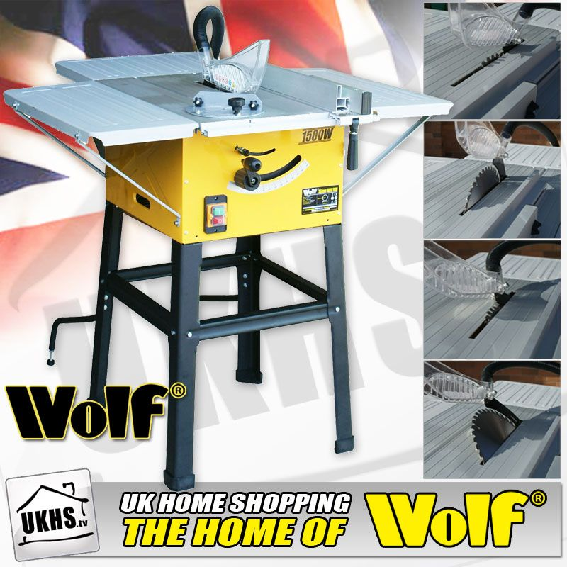 Wolf 10 Table Saw With Leg Stand Brand Power Table Saw Drafting Desk