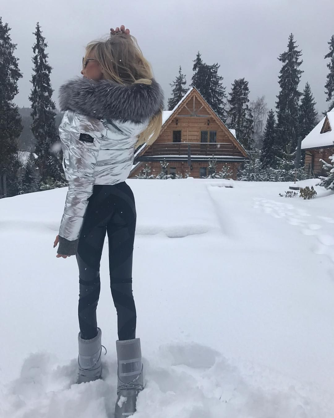 mazing place! 😍 ️🌬 Jacke in 2020   Stylish winter outfits ...