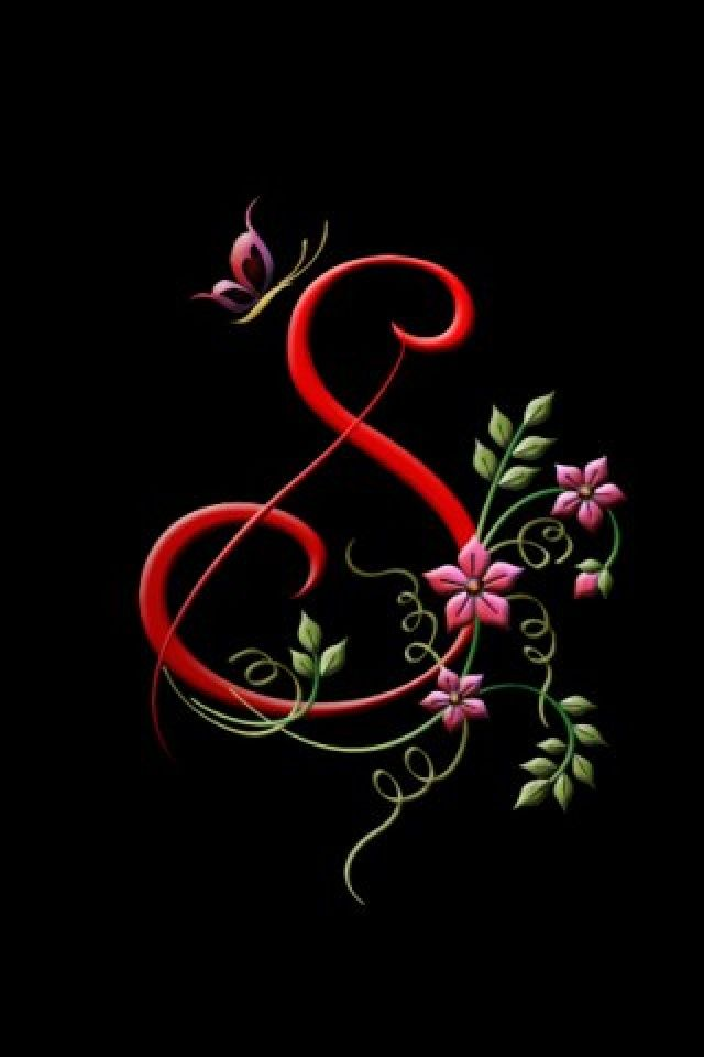 My Creation S1 Creative Background For Your Iphone Download Free Flowery Wallpaper Name Wallpaper Alphabet Wallpaper