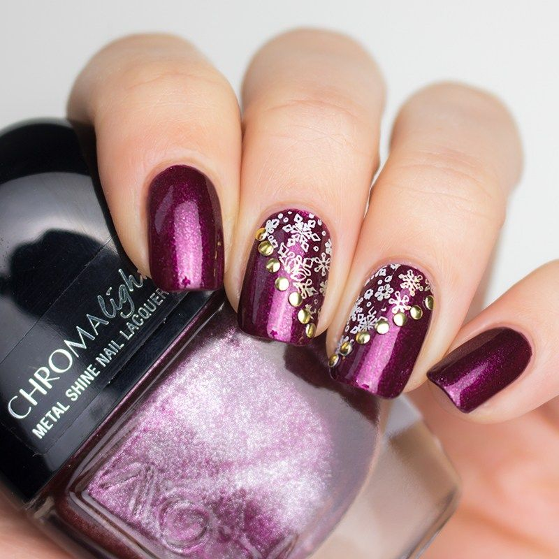 Lov Sparkling Berry Nagellack Mit Lina Nail Art Supplies