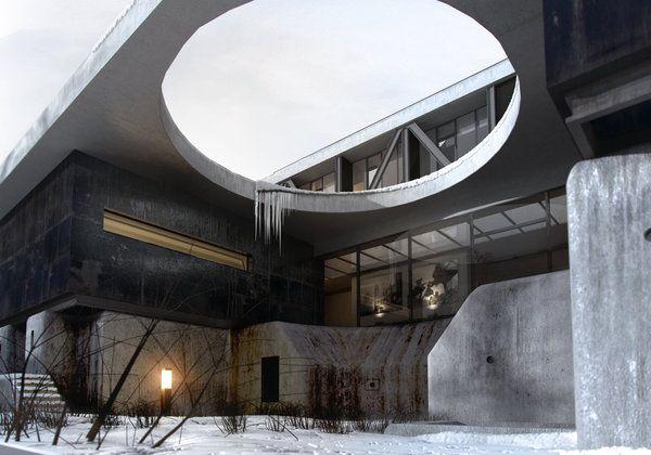 Hotel In Gdansk Architectural Presentation Concept Architecture Amazing Architecture Architecture