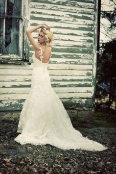 Handmade Enzoani Diana Wedding Dress $999