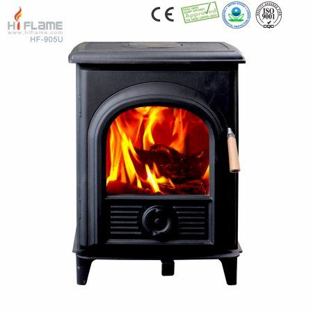 Hiflame Shetland HF905UPB steel plate wood burning stove wood