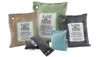 Moso Bag: The natural way to keep spaces clean, fresh and dry