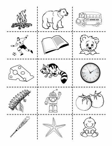 Living And Non Living Clipart Math Work Friendly Letter Science Worksheets