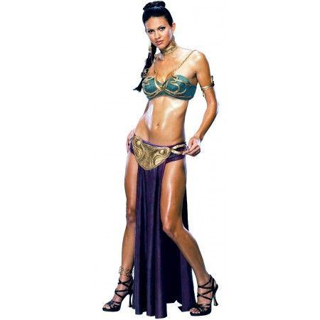Star Wars Princess Leia Slave Sexy Adult Womenu0027s Costume | Costumes.com.au  sc 1 st  Pinterest & Star Wars Princess Leia Slave Sexy Adult Womenu0027s Costume | Costumes ...