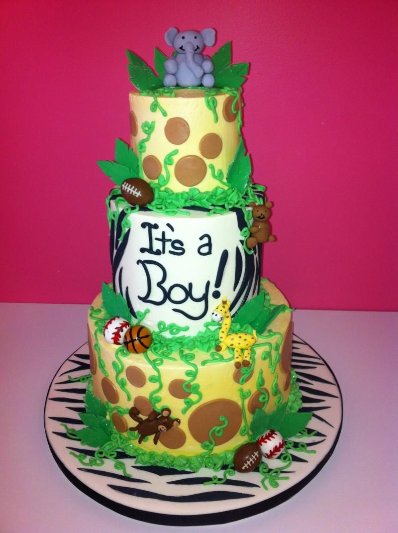 Awesome Some Ideas For Jungle Theme Baby Shower Food FREE Baby