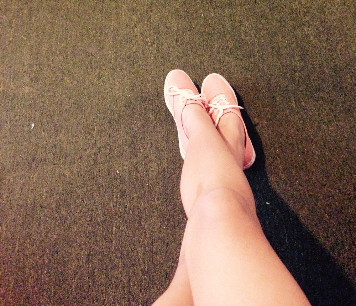 Mis piernas blancuchas