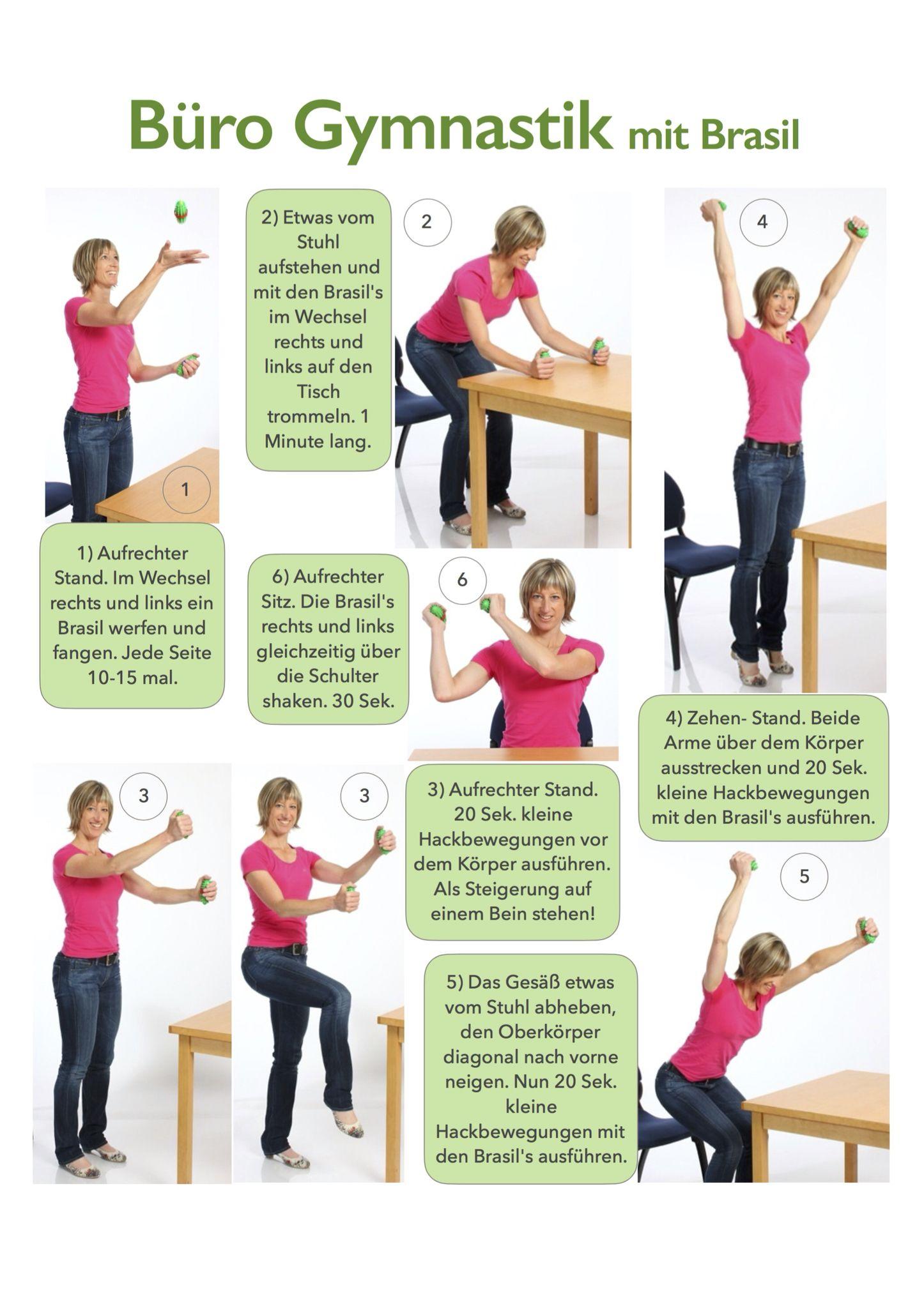kurze bewegungspausen f rs b ro wirbels ulengymnastik pinterest das b ro b ros und. Black Bedroom Furniture Sets. Home Design Ideas