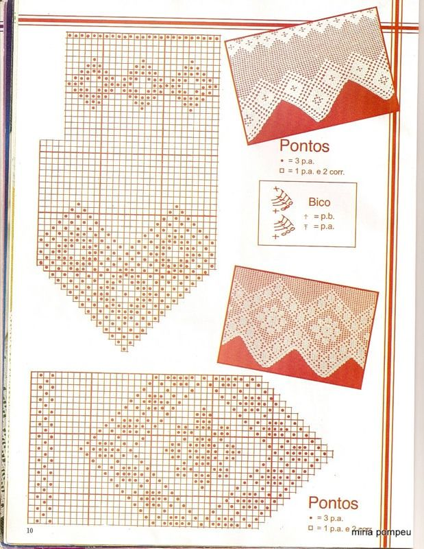 Revista: BARRADINHOS EM Croche - 3 revista. Discusión sobre LiveInternet - Servicio de Rusia Diarios Online