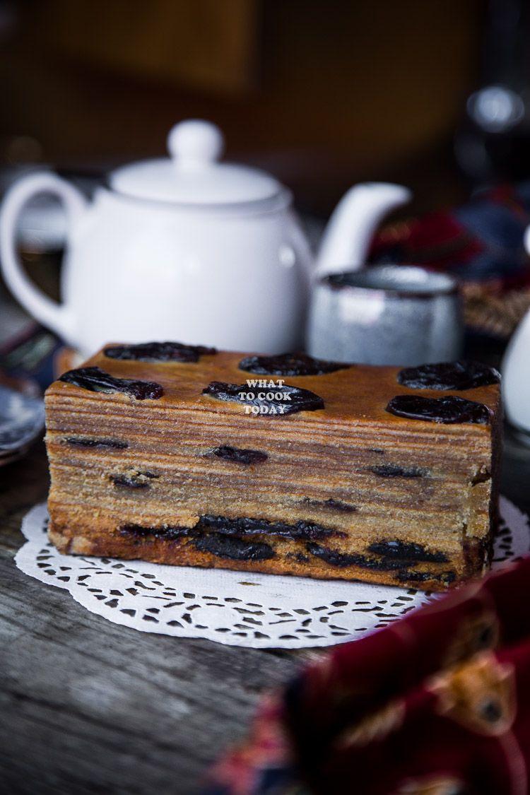 How to make lapis legit prune thousand layer cake