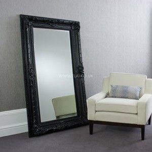 Reims Leaner Mirror Black | Home Decor | Pinterest