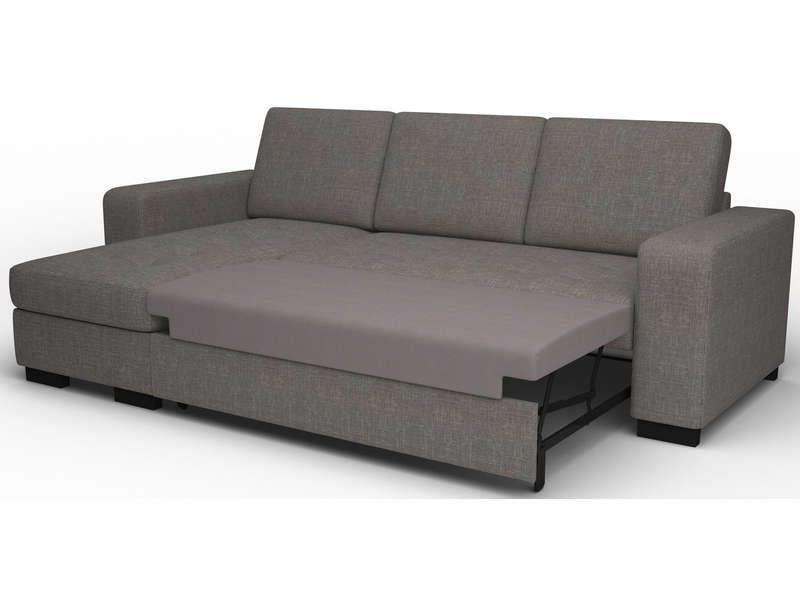 canap d 39 angle convertible r versible new scott coloris gris pas cher c 39 est sur. Black Bedroom Furniture Sets. Home Design Ideas