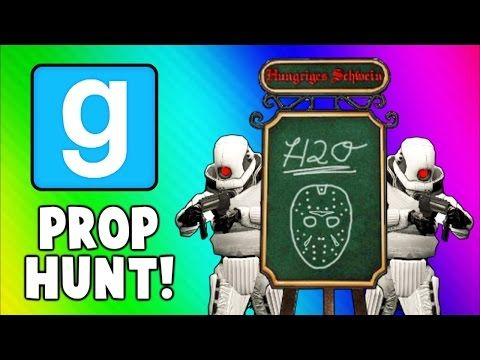 Gmod Prop Hunt Funny Moments - Most Intense Round Ever