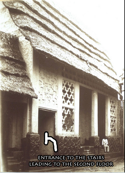 Prempeh's Palace, Great Hall, maybe Ahenfie Kumasi, 1896-1900