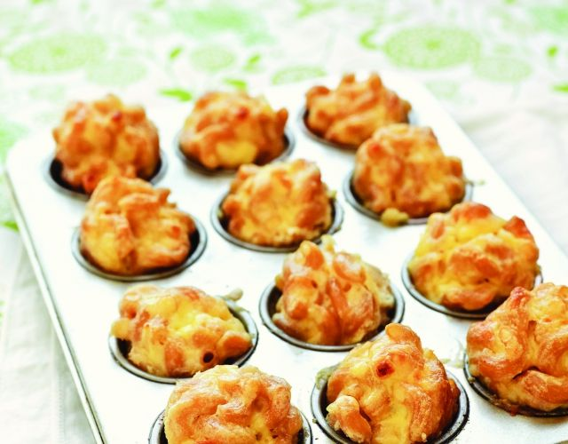 Easy Mac and Cheese Bites