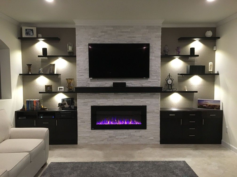 Floating Shelves And Cabinets Home Decor In 2019