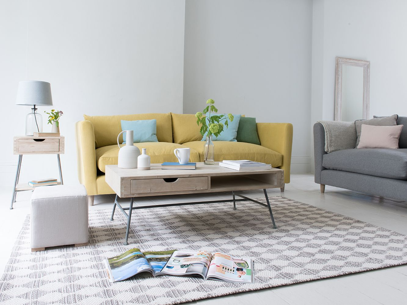 Bring A Bright Pop Of Yellow Into The Sitting Room. The Perfect Way To Perk
