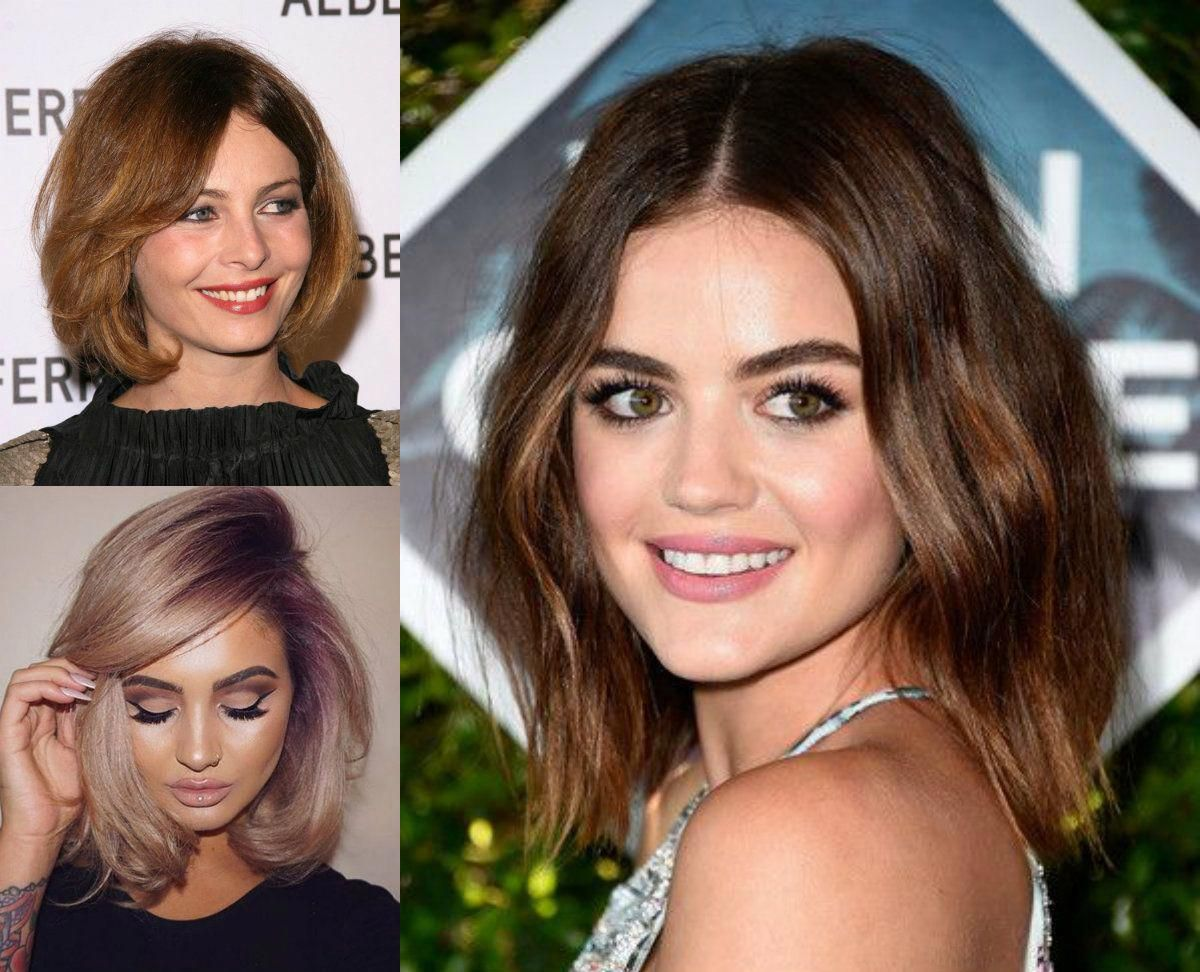 the best fit bob haircuts for round face