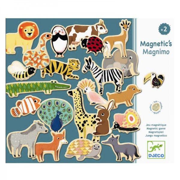 djeco magnetics magnete magnimo tiere f r kinder ab 2. Black Bedroom Furniture Sets. Home Design Ideas