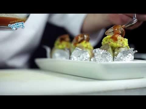 Papa asada con aguacate y sardinas - Van Camp´s, receta por Cocina33