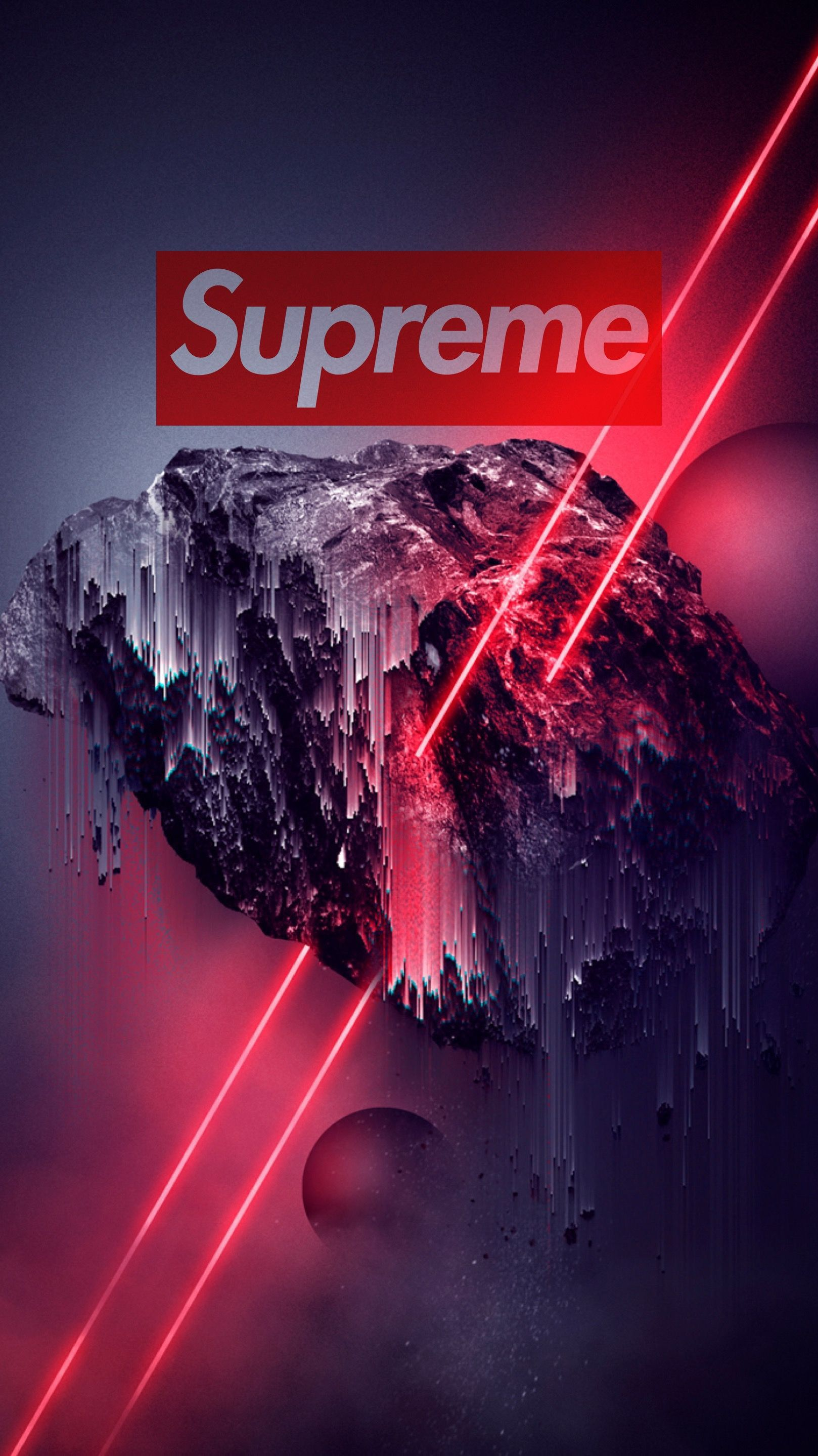 New Supreme Wallpaper iPhone (With images) Tapety