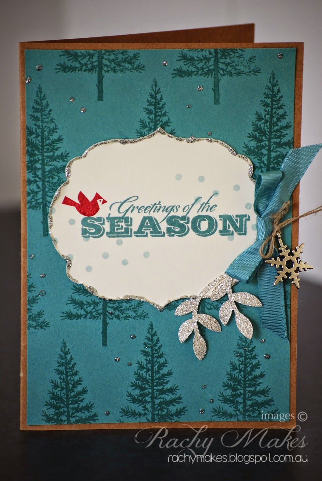 Rachy Makes Greetings Of The Season Stampin Up Only Pinterest