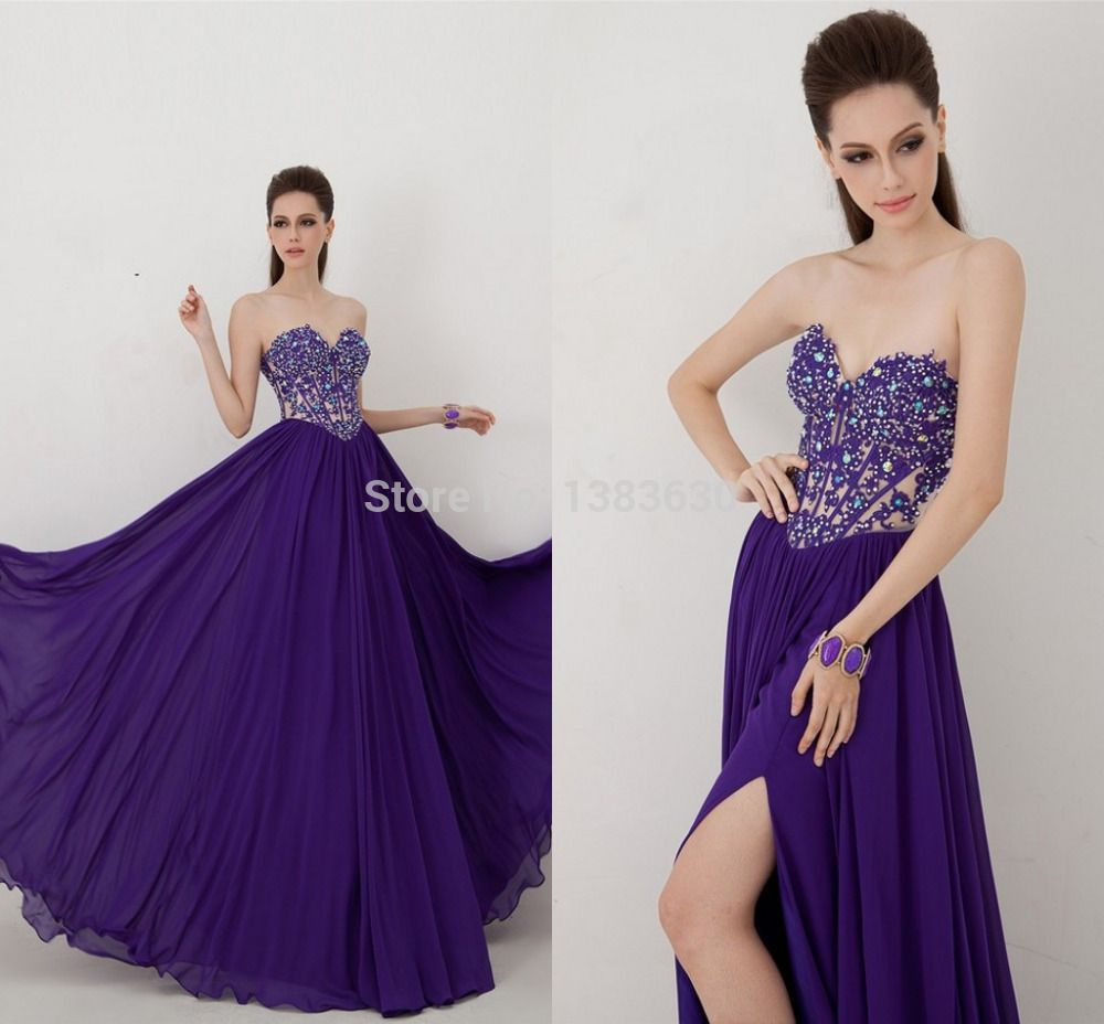 Find More Vestidos de Gala Information about 2015 elegante azul ...