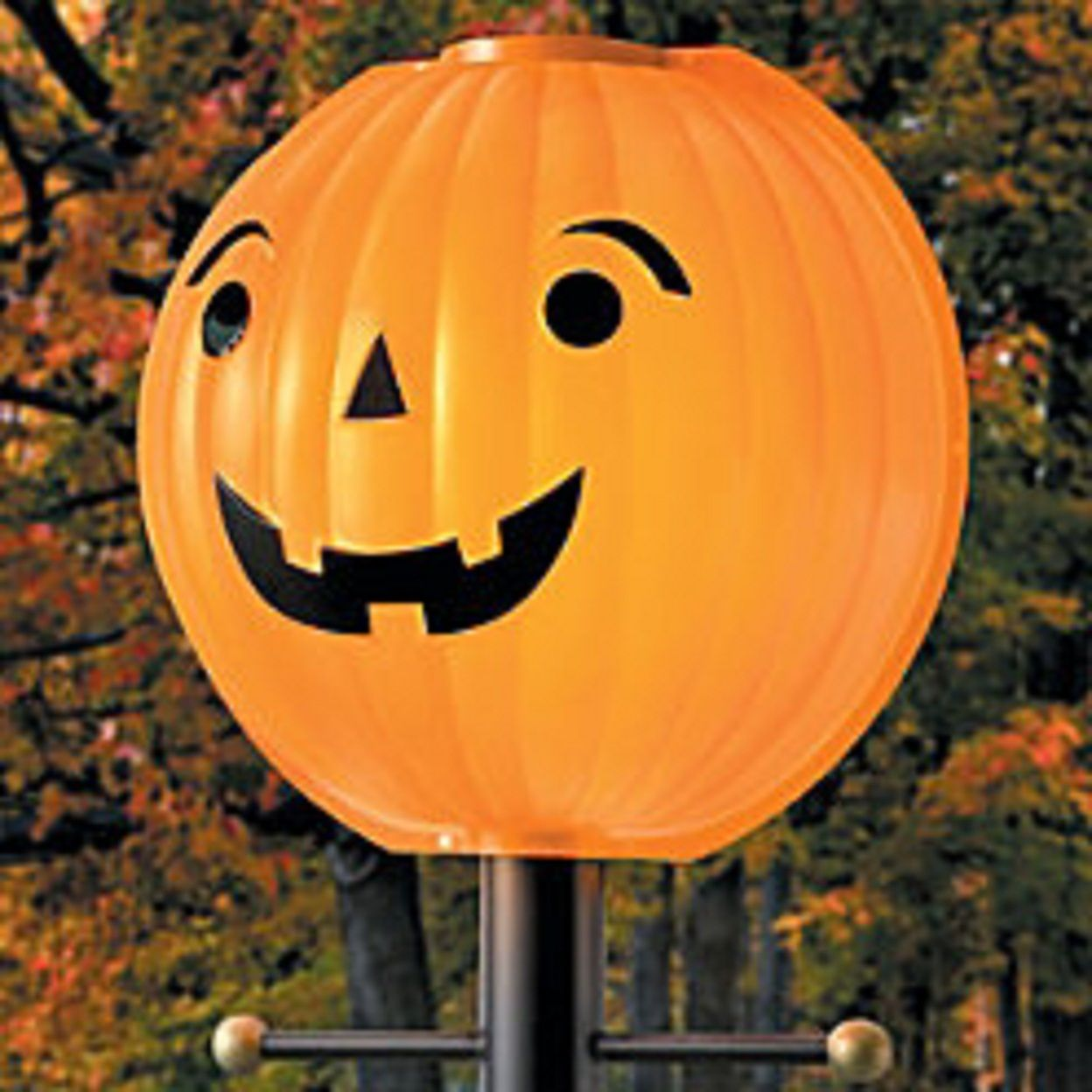 . HALLOWEEN THANKSGIVING PUMPKIN LAMPPOST COVER Your