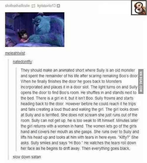 The worst/best Disney fan fic of all time. | 49 Glorious Reasons To Be Thankful The Internet Exists