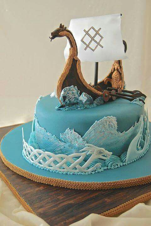 Viking Cake Vikings Cake