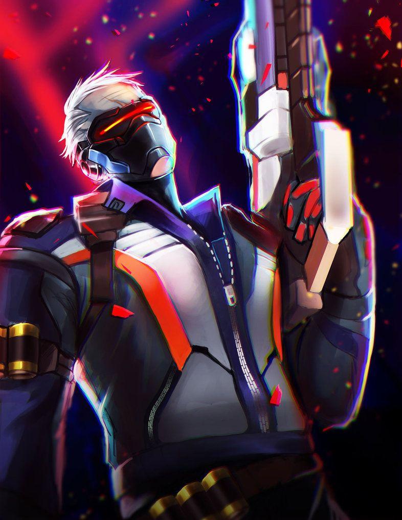Soldier 76 Overwatch By Tielss On Deviantart Overwatch Wallpapers Overwatch Soldier 76
