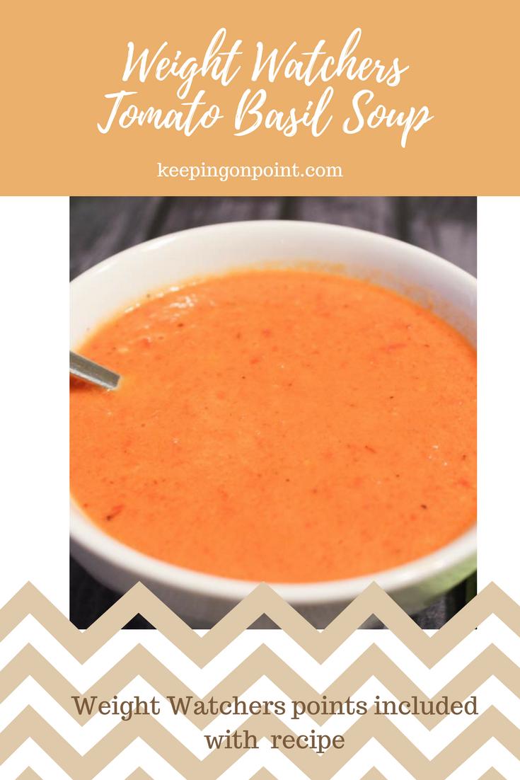 Photo of Tomato Basil Soup – Weight Watchers – Instant Pot. #weightwatchers #weightwatche…