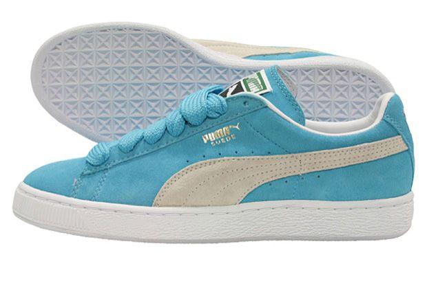 Puma Suede Baby Blue   Blue puma suede