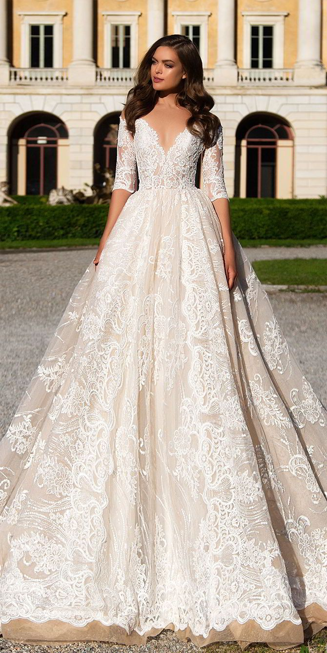 Milla nova wedding dresses white desire collection outfit
