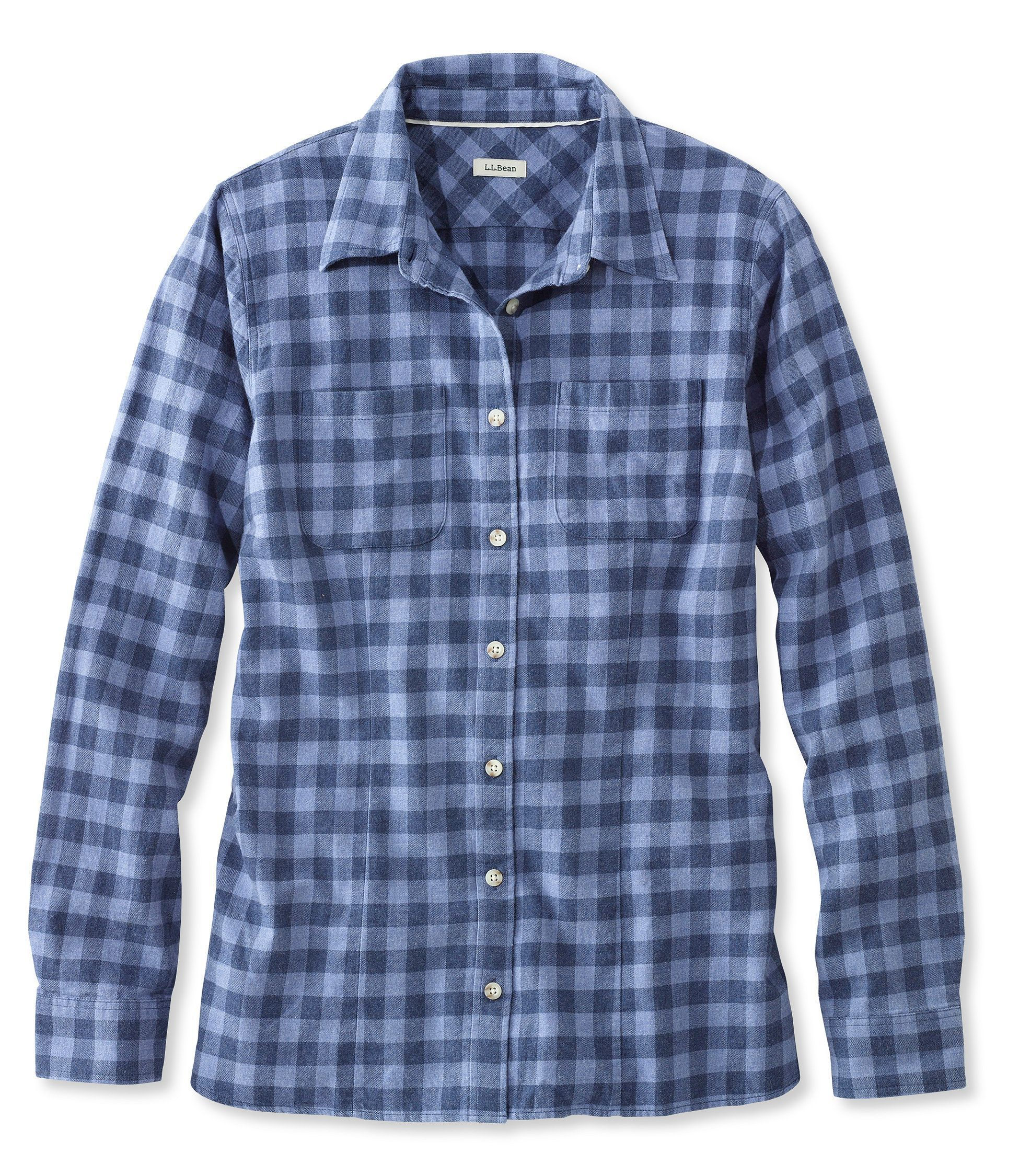 Plus size flannel shirt dress  Freeport Flannel Shirt  Products