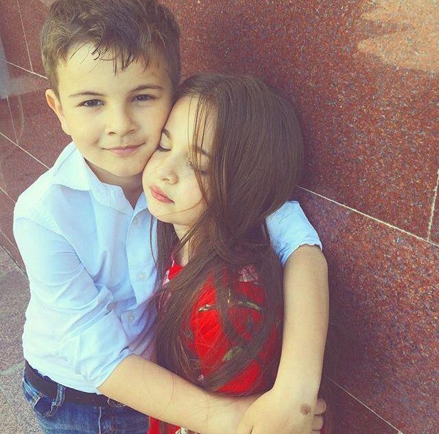 love cute baby couple photos