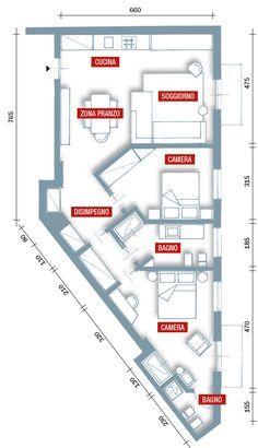 70 mq la casa migliora così Architettura moderna di