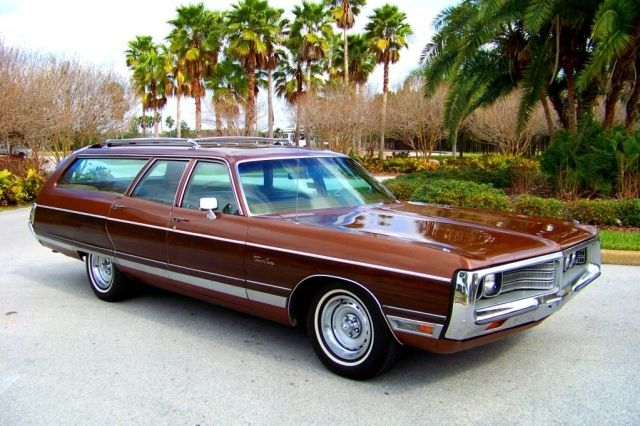 1972 Chrysler Town And Country Station Wagon Station Wagon Cars