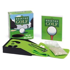 desktop golf kit mini home sweet cubicle golf gifts gifts for rh pinterest com